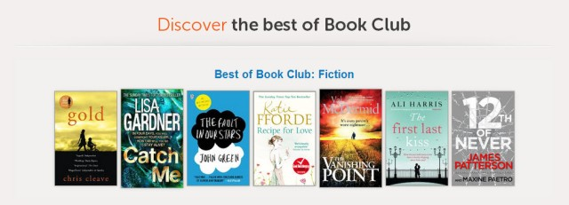 Sainsbury's Book Club selection - Complete Savings